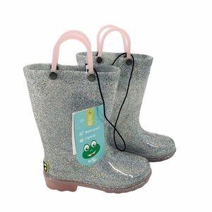 Western Chief Light-Up Glitter Rain Boots